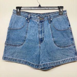 Gitano VTG 90's high rise shorts denim size 14